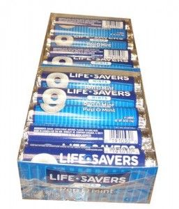 LIFESAVERS pep o mint