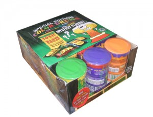 TOXIC WASTE COLOURED DRUMS CANDY