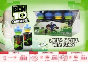 Ben 10 water bottle 24s
